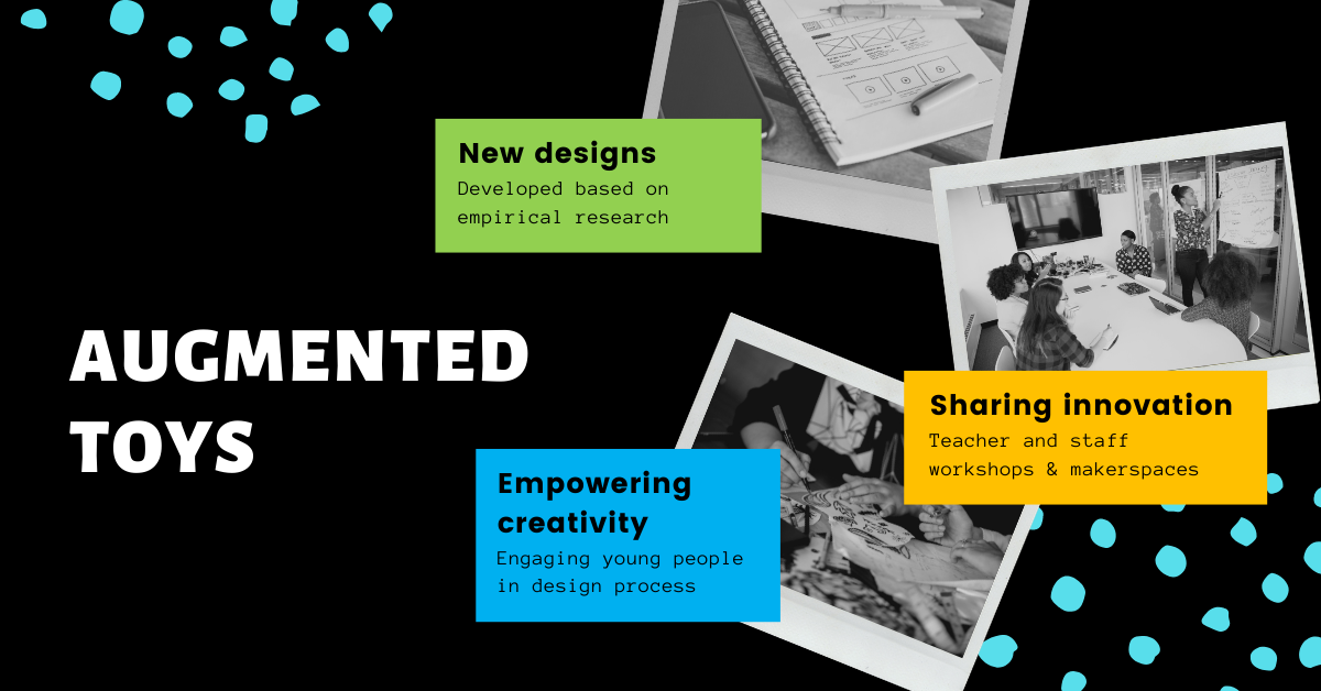 Summary of main goals of this page. New designs. Sharing innovation. Empowering creativity.